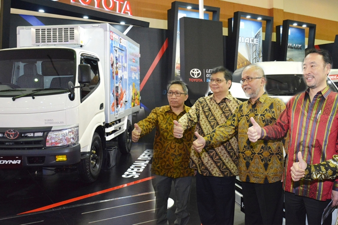 Gaikindo Indonesia International Commercial Vehicle Expo 2018 Toyota Hadirkan 4 Varian Kendaraan Komersial