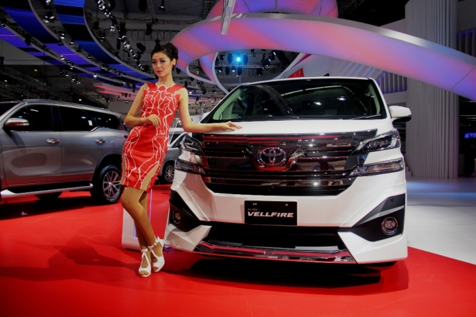 Here For A Wonderful Tomorrow -  Toyota Luncurkan Line-Up Baru New Vellfire di GIIAS 2016