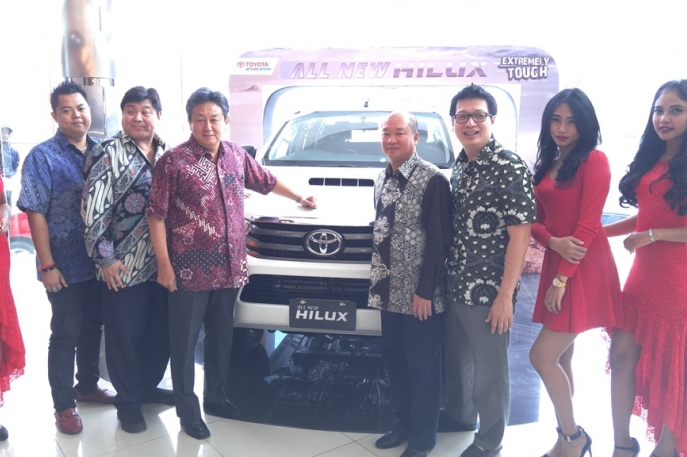 All New Toyota Hilux Pick-Up Tangguh Toyota Menggebrak Sumatra Utara